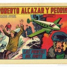 Tebeos: ROBERTO ALCAZAR Y PEDRIN Nº 806 - LOS PIRATAS DEL NORTE - VALENCIANA 1968 - ORIGINAL. Lote 282273203