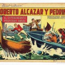 Tebeos: ROBERTO ALCAZAR Y PEDRIN Nº 807 - EL EXTRAVAGANTE PROFESOR ROSSI - VALENCIANA 1968 - ORIGINAL. Lote 282273333
