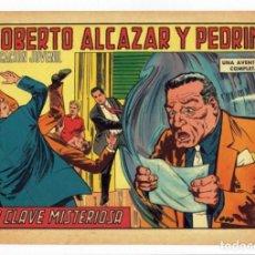 Tebeos: ROBERTO ALCAZAR Y PEDRIN Nº 809 - LA CLAVE MISTERIOSA - VALENCIANA 1968 - ORIGINAL. Lote 282273428