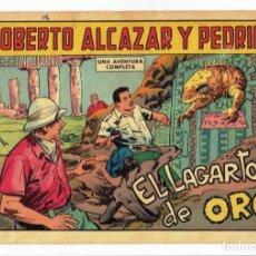 Tebeos: ROBERTO ALCAZAR Y PEDRIN Nº 867 - EL LAGARTO DE ORO - VALENCIANA 1969 - ORIGINAL. Lote 282273508