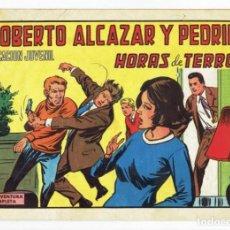 Tebeos: ROBERTO ALCAZAR Y PEDRIN Nº 1131 - HORAS DE TERROR - VALENCIANA 1974 - ORIGINAL. Lote 282273613