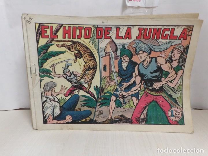 HIJO DE LA JUNGLA -COLECCION COMPLETA 1-86--EDI.VALENCIANA AÑO 1956--M.GAGO-1 EDICION -ORIGINAL (Tebeos y Comics - Valenciana - Hijo de la Jungla)