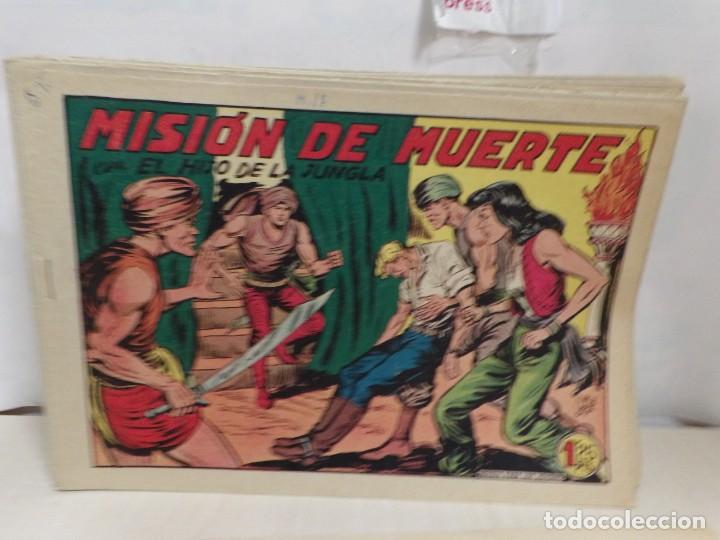 Tebeos: HIJO DE LA JUNGLA -COLECCION COMPLETA 1-86--EDI.VALENCIANA AÑO 1956--M.GAGO-1 EDICION -ORIGINAL - Foto 2 - 283171303