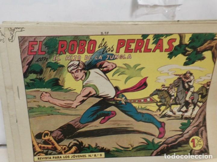 Tebeos: HIJO DE LA JUNGLA -COLECCION COMPLETA 1-86--EDI.VALENCIANA AÑO 1956--M.GAGO-1 EDICION -ORIGINAL - Foto 4 - 283171303