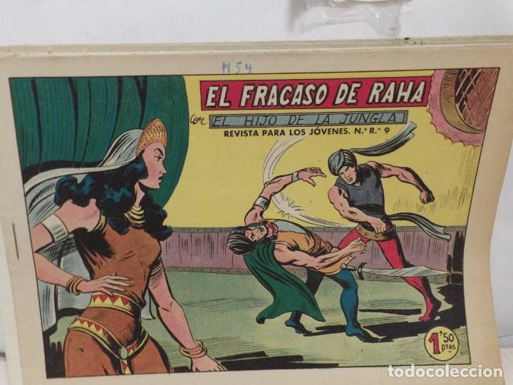 Tebeos: HIJO DE LA JUNGLA -COLECCION COMPLETA 1-86--EDI.VALENCIANA AÑO 1956--M.GAGO-1 EDICION -ORIGINAL - Foto 5 - 283171303