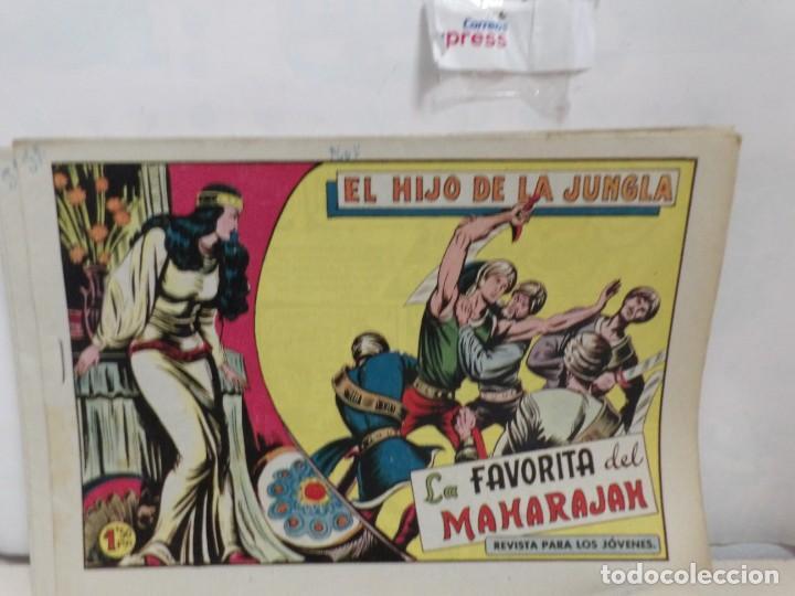 Tebeos: HIJO DE LA JUNGLA -COLECCION COMPLETA 1-86--EDI.VALENCIANA AÑO 1956--M.GAGO-1 EDICION -ORIGINAL - Foto 6 - 283171303