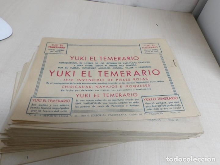 Tebeos: HIJO DE LA JUNGLA -COLECCION COMPLETA 1-86--EDI.VALENCIANA AÑO 1956--M.GAGO-1 EDICION -ORIGINAL - Foto 10 - 283171303