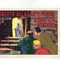Tebeos: ROBERTO ALCAZAR Y PEDRIN Nº 1048 - ¡ VETE, SIMÓN ! - VALENCIANA - 1972. Lote 283205013