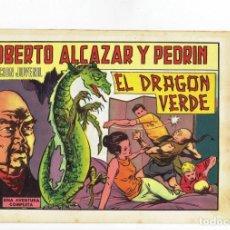 Tebeos: ROBERTO ALCAZAR Y PEDRIN Nº 1045 - EL DRAGÓN VERDE - VALENCIANA - 1972. Lote 283205133