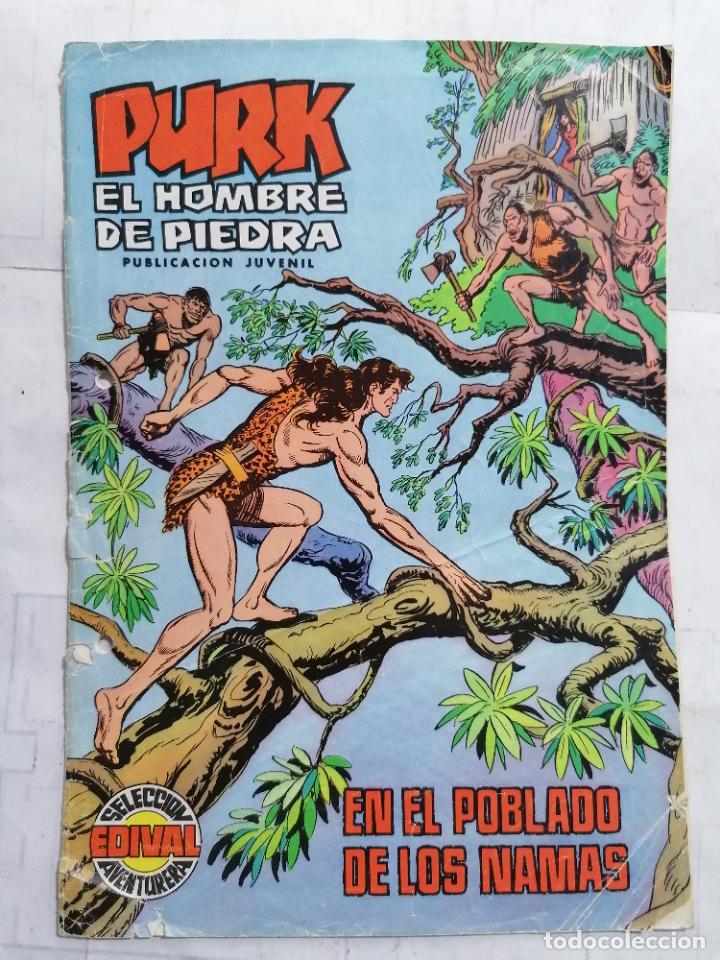 PURK EL HOMBRE DE PIEDRA, Nº 12, EN EL POBLADO DE LOS NAMAS (Tebeos y Comics - Valenciana - Purk, el Hombre de Piedra)