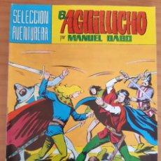 Tebeos: EL AGUILUCHO - NÚM. 9: RETO A MUERTE - AÑO 1981 - PERFECTO ESTADO. Lote 285142398