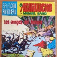 Tebeos: EL AGUILUCHO - NÚM. 15: LOS AMIGOS DEL BOSQUE - AÑO 1981 - PERFECTO ESTADO. Lote 285159428