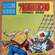 Tebeos: EL AGUILUCHO - NÚM. 21: LUCHA A MUERTE EN EL MAR - AÑO 1981 - PERFECTO ESTADO. Lote 285162648