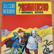 Tebeos: EL AGUILUCHO - NÚM. 32: LOS FANTASMAS DE LAS DUNAS - AÑO 1982 - PERFECTO ESTADO. Lote 285248003