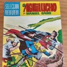 Tebeos: EL AGUILUCHO - NÚM. 35: FUGA ACCIDENTADA - AÑO 1982 - PERFECTO ESTADO. Lote 285318383