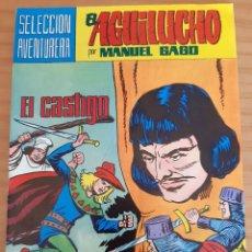 Tebeos: EL AGUILUCHO - NÚM. 37: EL CASTIGO - AÑO 1982 - PERFECTO ESTADO. Lote 285323383