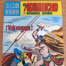Tebeos: EL AGUILUCHO - NÚM. 39: ¡VIKINGOS! - AÑO 1982 - PERFECTO ESTADO. Lote 285326018