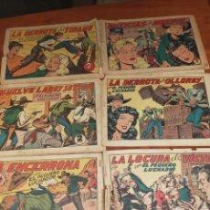 Tebeos: EL PEQUEÑO LUCHADOR EDITORIAL VALENCIANA ORIGINALES. Lote 285803503