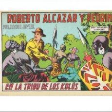 Giornalini: * ROBERTO ALCÁZAR Y PEDRÍN * ED. VALENCIANA Nº 975 * ORIGINAL *. Lote 286244753