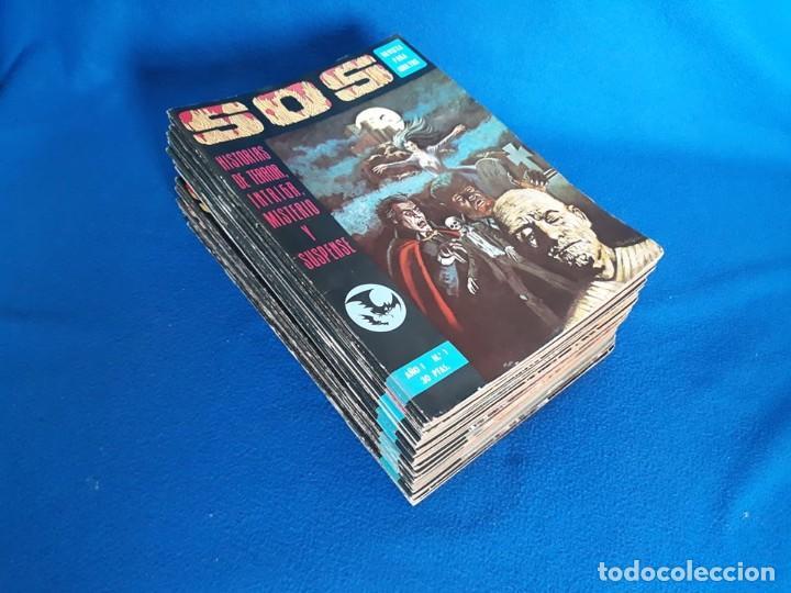 REVISTA S.O.S - 1 AL 25 (DE 26) - EDIVAL (Tebeos y Comics - Valenciana - S.O.S)