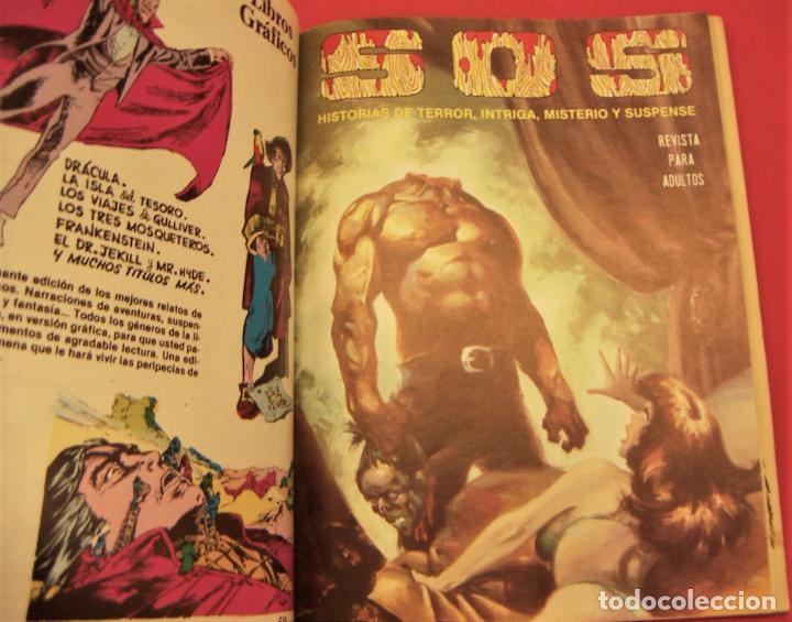 Tebeos: S O S TOMO Nº5 CON 4 NUMEROS- HISTORIAS DE TERROR DE MISTERIO FANTASIA SUSPENSE - Foto 2 - 286507813