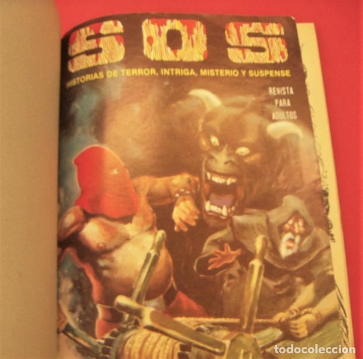 Tebeos: S O S TOMO Nº5 CON 4 NUMEROS- HISTORIAS DE TERROR DE MISTERIO FANTASIA SUSPENSE - Foto 3 - 286507813