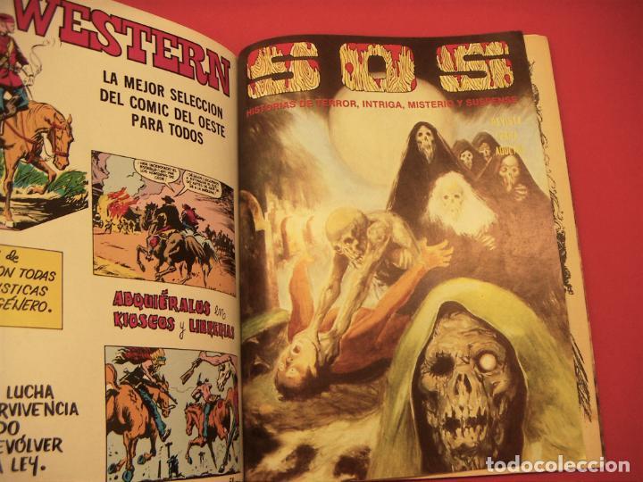 Tebeos: S O S TOMO Nº5 CON 4 NUMEROS- HISTORIAS DE TERROR DE MISTERIO FANTASIA SUSPENSE - Foto 5 - 286507813