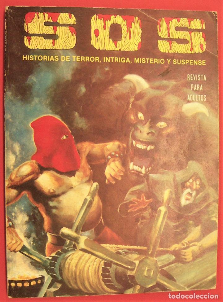 S O S TOMO Nº5 CON 4 NUMEROS- HISTORIAS DE TERROR DE MISTERIO FANTASIA SUSPENSE (Tebeos y Comics - Valenciana - S.O.S)