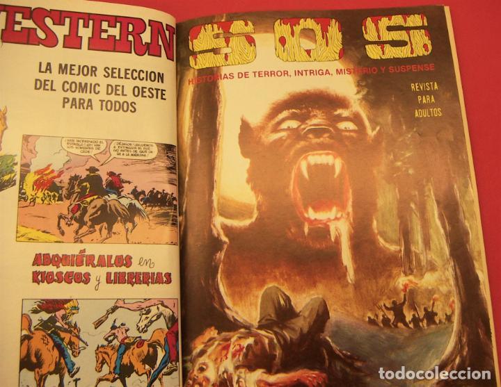 Tebeos: S O S TOMO Nº6 CON 4 NUMEROS- HISTORIAS DE TERROR DE MISTERIO FANTASIA SUSPENSE - Foto 3 - 286508288