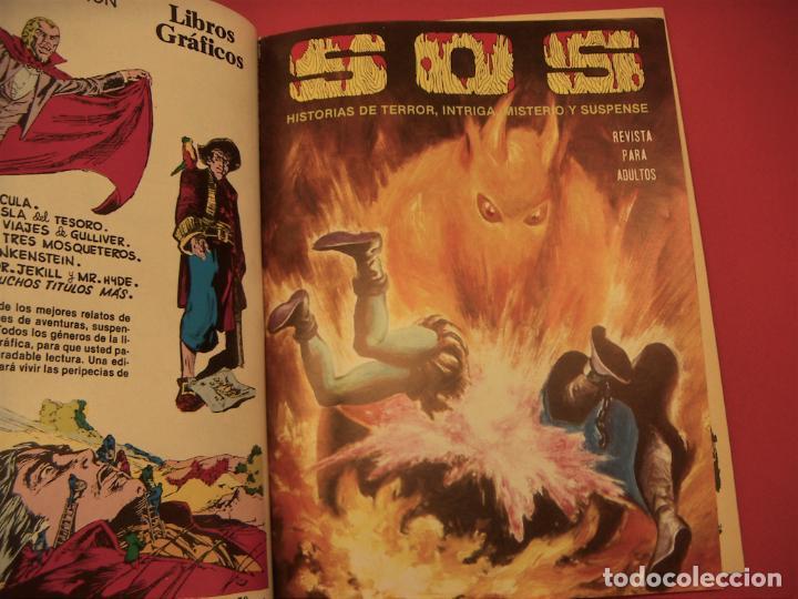 Tebeos: S O S TOMO Nº6 CON 4 NUMEROS- HISTORIAS DE TERROR DE MISTERIO FANTASIA SUSPENSE - Foto 5 - 286508288