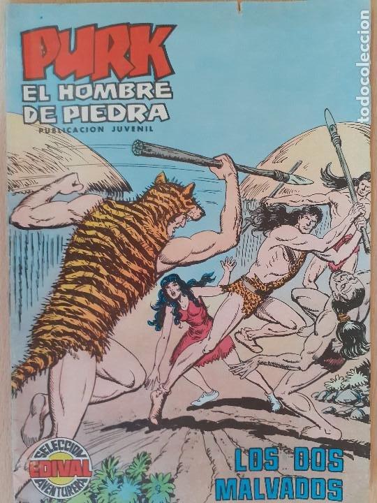 PURK EOL HOMBRE DE PIEDRA Nº 87. VALENCIANA 1975. BUEN ESTADO (Tebeos y Comics - Valenciana - Purk, el Hombre de Piedra)