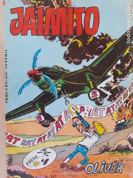 JAIMITO Nº 1643. VALENCIANA 1983. (Tebeos y Comics - Valenciana - Purk, el Hombre de Piedra)