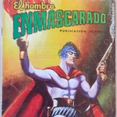 Tebeos: EL HOMBRE ENMASCARADO Nº 21. VALENCIANA 1979. Lote 286720158