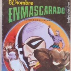 Tebeos: EL HOMBRE ENMASCARADO Nº 9. VALENCIANA 1980. Lote 286720243