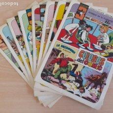 Tebeos: COLOSOS DEL COMIC SUPER 3 AMBROSIO. LOTE DE 9 EJEMPLARES. VALENCIANA 1984. BUEN ESTADO. Lote 286720813
