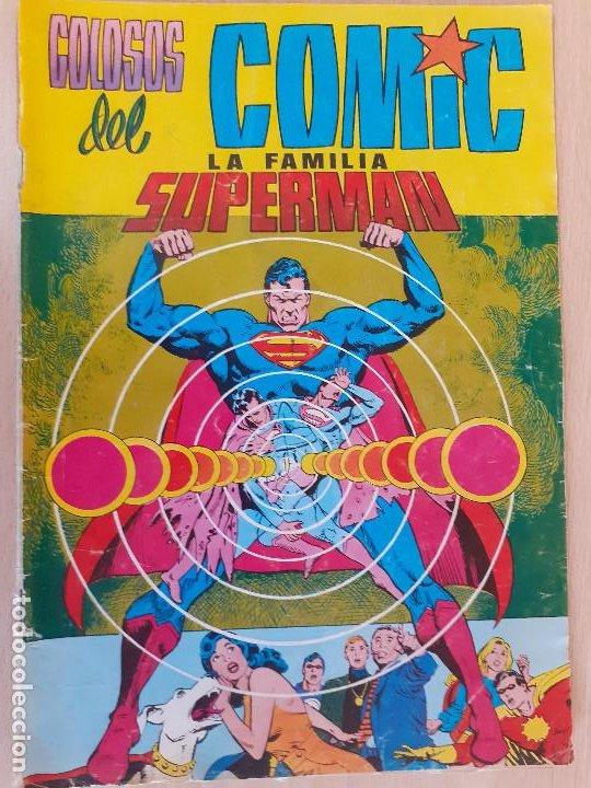 LA FAMILIA SUPERMAN Nº 1. COLOSOS DEL COMIC VALENCIANA 1984. (Tebeos y Comics - Valenciana - Colosos del Comic)