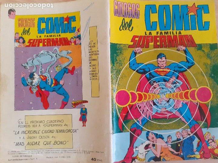 Tebeos: La familia Superman nº 1. Colosos del Comic Valenciana 1984. - Foto 2 - 286721038