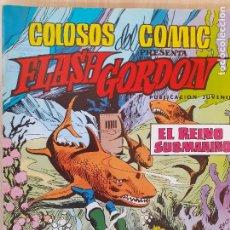 Tebeos: FLASH GORDON Nº 15. COLOSOS DEL COMIC VALENCIANA 1980. BUEN ESTADO. Lote 286721753