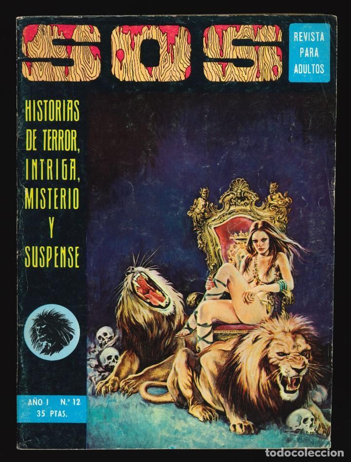 SOS (1ª ÉPOCA) - VALENCIANA / NÚMERO 12 (Tebeos y Comics - Valenciana - S.O.S)