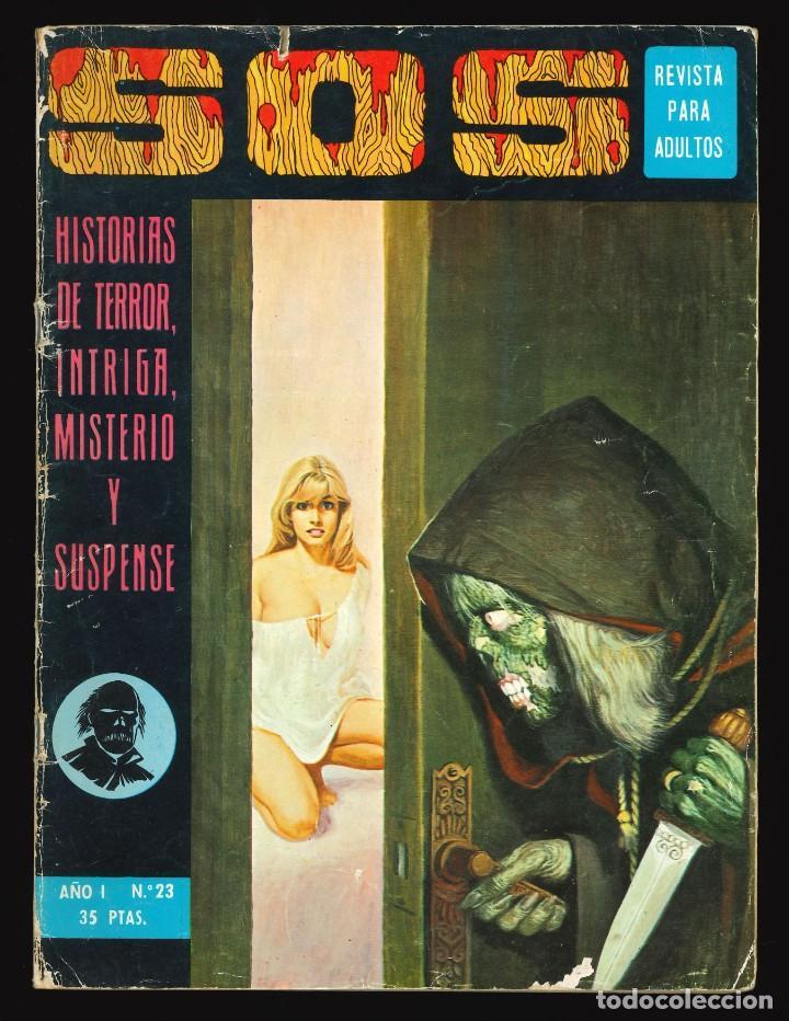 SOS (1ª ÉPOCA) - VALENCIANA / NÚMERO 23 +++ FALTAN 4 PÁGINAS +++ (Tebeos y Comics - Valenciana - S.O.S)