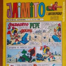 Tebeos: JAIMITO Nº 1576. VALENCIANA 1981. BUEN ESTADO. CON TIP Y COLL. Lote 287361513