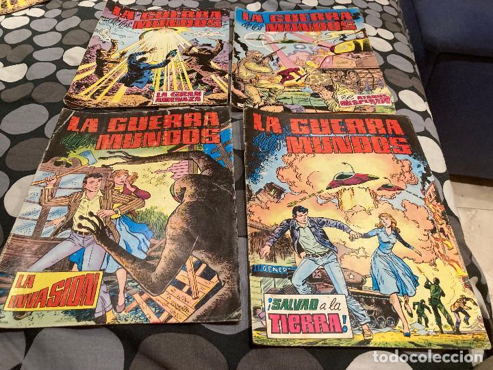 LA GUERRA DE LOS MUNDOS 1-4 COMPLETA - EDITORIAL VALENCIANA 1979 (Tebeos y Comics - Valenciana - Otros)
