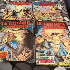 Tebeos: LA GUERRA DE LOS MUNDOS 1-4 COMPLETA - EDITORIAL VALENCIANA 1979. Lote 287546758
