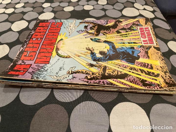 Tebeos: LA GUERRA DE LOS MUNDOS 1-4 COMPLETA - EDITORIAL VALENCIANA 1979 - Foto 2 - 287546758