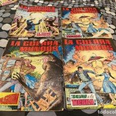 Tebeos: LA GUERRA DE LOS MUNDOS 1-4 COMPLETA - EDITORIAL VALENCIANA 1979. Lote 287547463