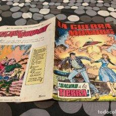 Tebeos: LA GUERRA DE LOS MUNDOS. Nº4. SALVAD A LA TIERRA , ULTIMO NUMERO VALENCIANA. Lote 287657208