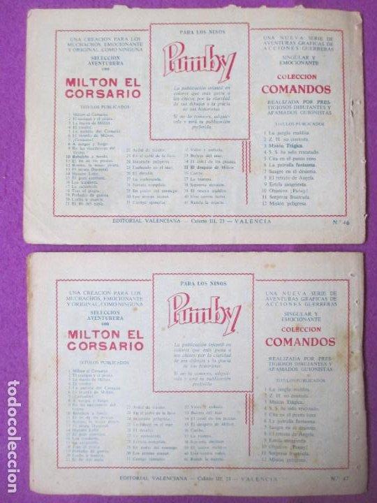 Tebeos: LOTE 9 TEBEOS EL HIJO DE LA JUNGLA ED. VALENCIANA 1958 VER FOTOS ADICIONALES - Foto 5 - 287731993