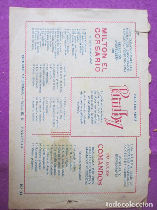 Tebeos: LOTE 9 TEBEOS EL HIJO DE LA JUNGLA ED. VALENCIANA 1958 VER FOTOS ADICIONALES - Foto 11 - 287731993