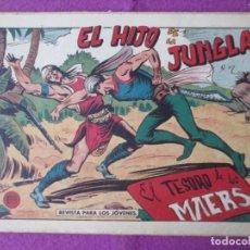 Tebeos: LOTE 9 TEBEOS EL HIJO DE LA JUNGLA ED. VALENCIANA 1958 VER FOTOS ADICIONALES. Lote 287731993