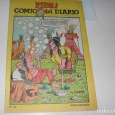 Tebeos: PIPA ¡ COMIC DEL DIARIO 22,DE 25,DIARIO DE VALENCIA,AÑO 1981.. Lote 287760243